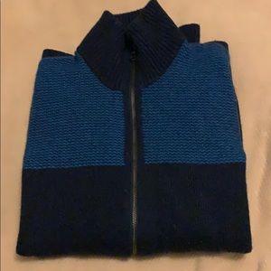 Banana Republic navy/blue merino wool sweater